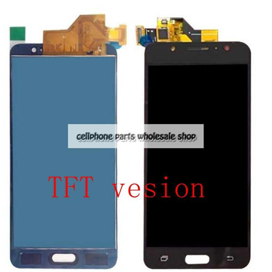 2016 For Samsung Galaxy J5 J510 J510FN J510Y J510M Lcd screen Display WIth Touch Glass Assembly TFT version have backlight