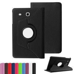 Nouveaux Produits De Luxe 360 Rotation Flip En Cuir Cas de Stand Tablet Cover pour Samsung Galaxy Tab E 9.6