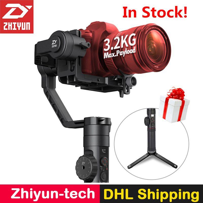 Zhiyun Kran 2 Handheld 3-Axis Kamera Stabilisator Follow Focus Gyro Gimbal für Nikon Canon Sony Panasonic DSLR Mirrorless Kameras