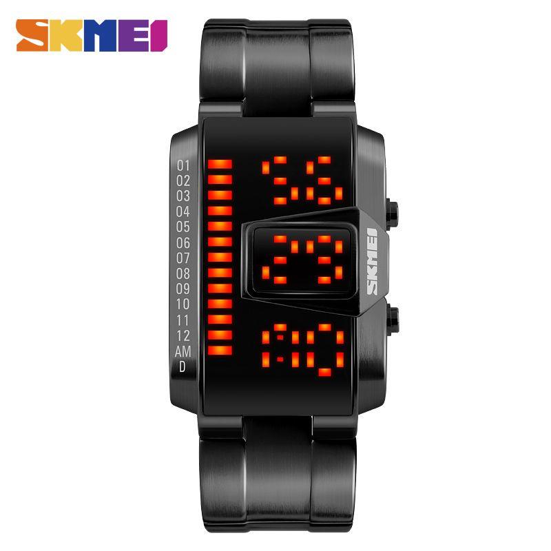SKMEI Men's Watch Digital Creative Sport Watches Male Clock Fashion Week EL Light Man Wrist Watch Outdoor relogio masculino 1179