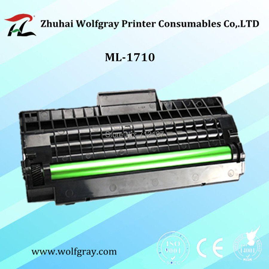 YI LE CAI Compatible pour Samsung ML-1710 ML1710 cartouche de toner ML-700/1510/1520 1710 P/1740/1750/1755; SCX-4016 4116 4216