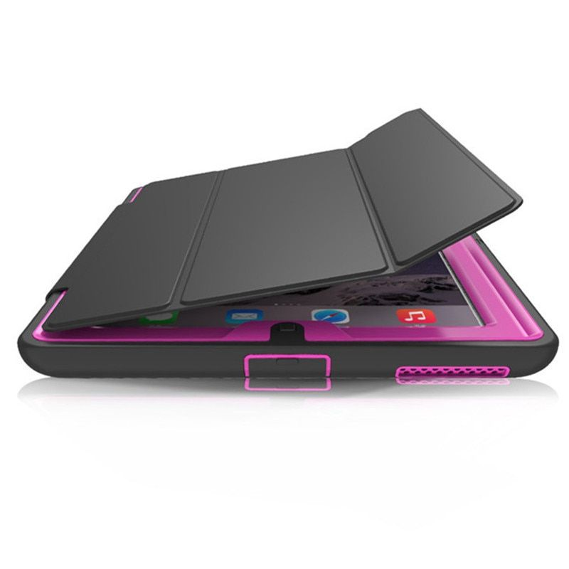 Case For apple ipad 4 Kids <font><b>Safe</b></font> Shockproof TPU Stand Cover for ipad 2/3/4 tablet 360 full protection
