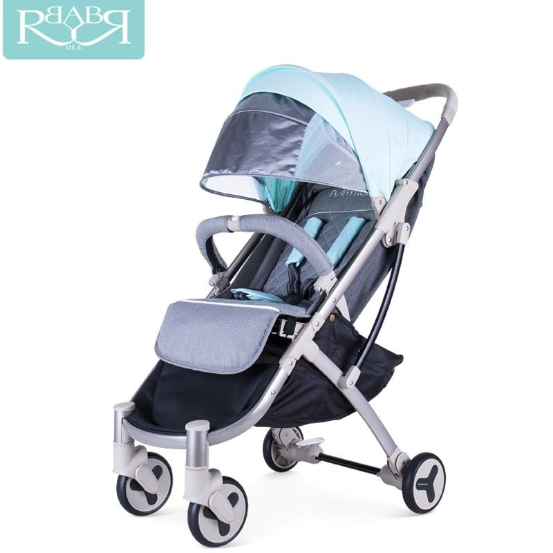 Babyruler Kidstravel lightweight Portable baby stroller 3 in 1 baby carriage Pram Pushchairs can sit or lie children Kinderwagen