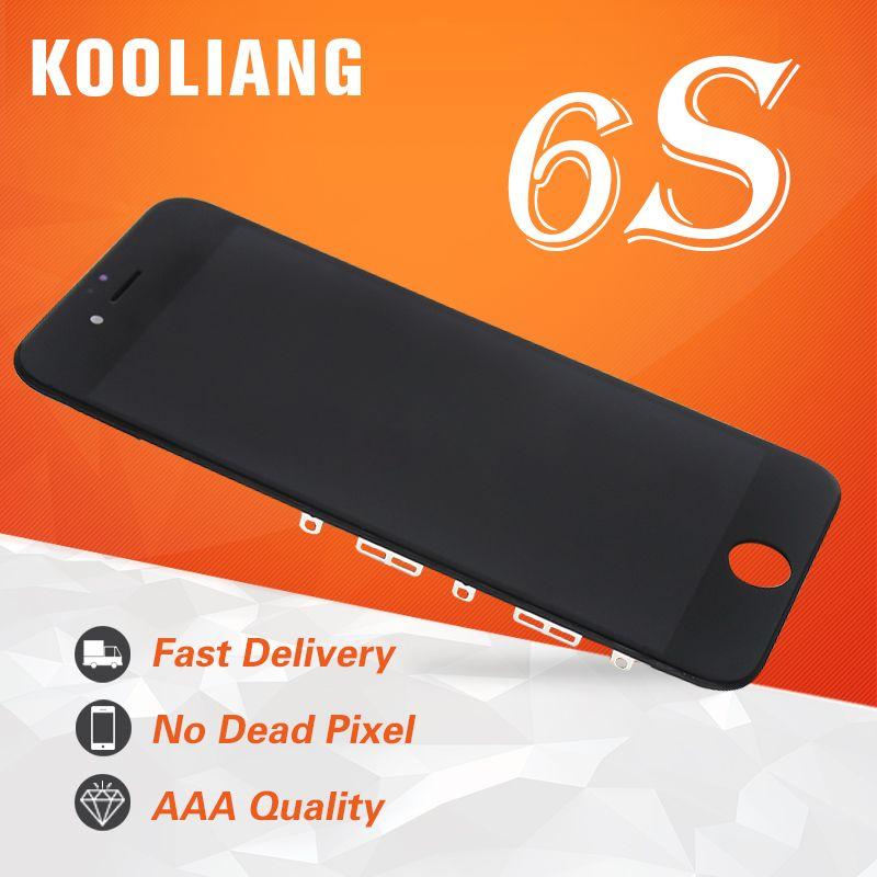 Entrepôt russe Tianma/AAA qualité 4.7 pouces pour iPhone 6 S écran tactile d'affichage à cristaux liquides avec pièces d'assemblage de remplacement de numériseur