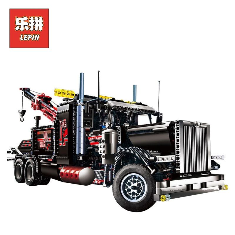 lepin 20020 Technic series the Tow Truck Model Building Blocks set Compatible legoingly 8285 classic car-styling children toy