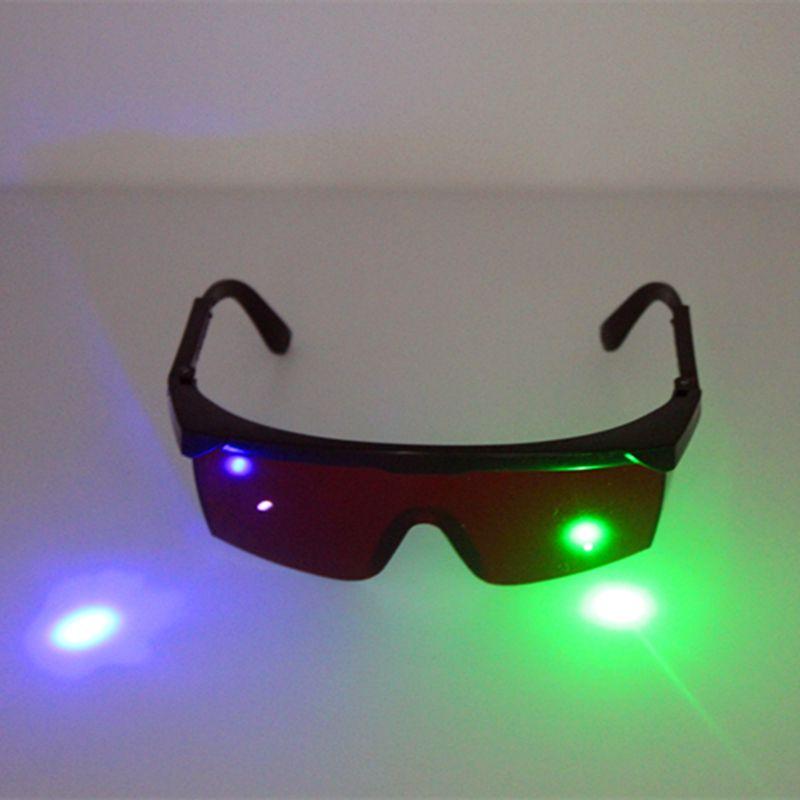 532nm vert 405nm violet bleu Laser lunettes de sécurité 400nm-540nm Laser instrument de beauté lunettes de Protection des yeux lunettes de Protection