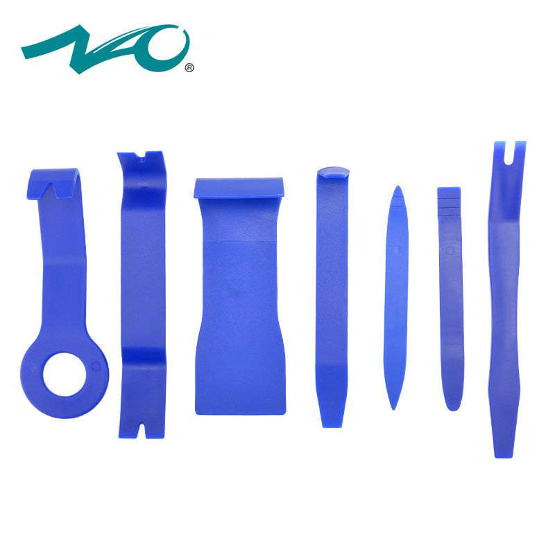 NAO car radio tools car led GPS Pry Kit Hand Tools for auto Audio Dashboard Removal Opening Interior signal light 7pcs Tool Set