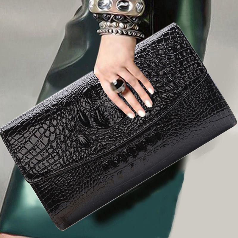 2018 or chaîne pochette pour dame femmes sac à main mode enveloppe sac fête soirée pochettes noir sac à main jour embrayage