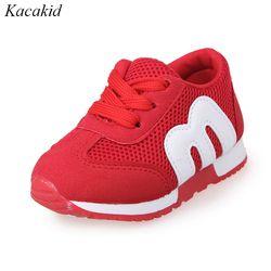 Niños zapatos niños y niñas deportes moda Casual Zapatos Zapatillas de deporte respirables de los cabritos del niño del bebé
