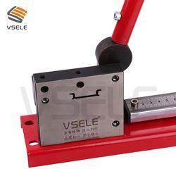 Din rel cutter, din rail alat pemotong, mudah dipotong dengan ukuran gauge cut dengan penguasa