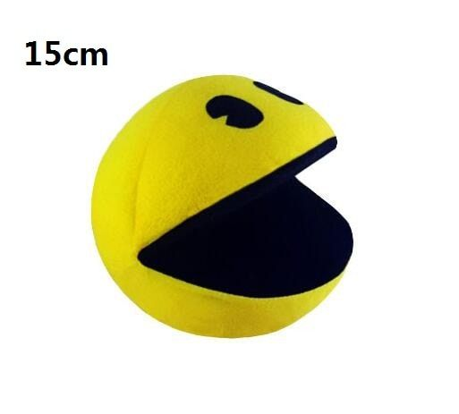 1 PCS PIXELS Film Pacman En Peluche Jouet Poupée Et Pac Man Pac-homme visage Souriant En Peluche Jouets Q bert, cadeaux de noël