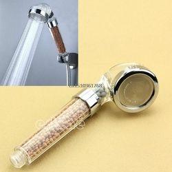 Nueva saludable ION cabezal de ducha filtro ionizador de agua herramienta baño Spa Home Beauty Spray # Y05 # C05 #