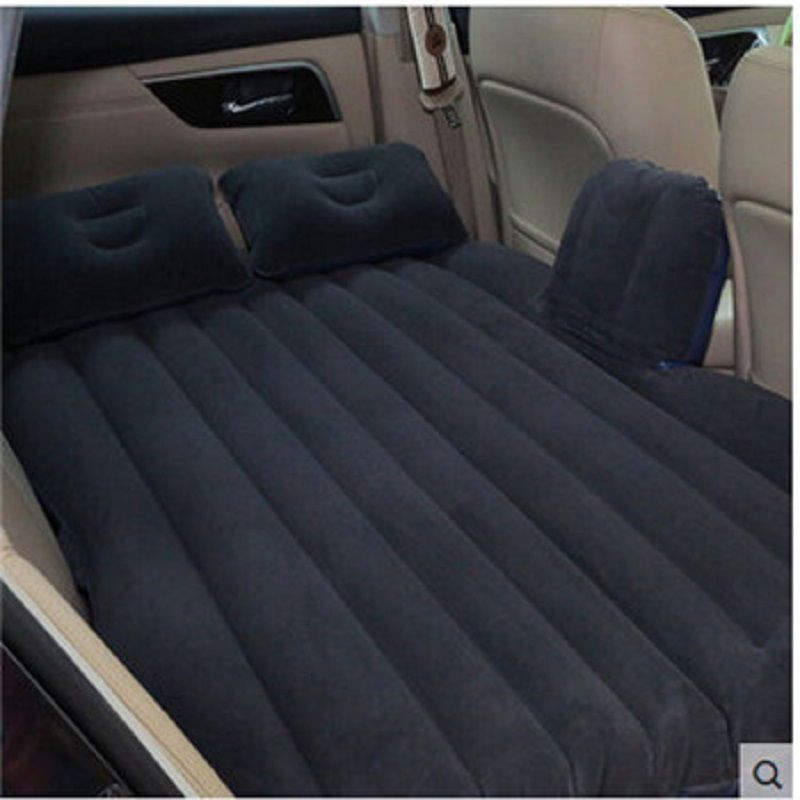 Car back Seat inflatable Air Mattress bed Camping colchoneta inflable Extended Mattress Cushion for outdoor or journey car bed
