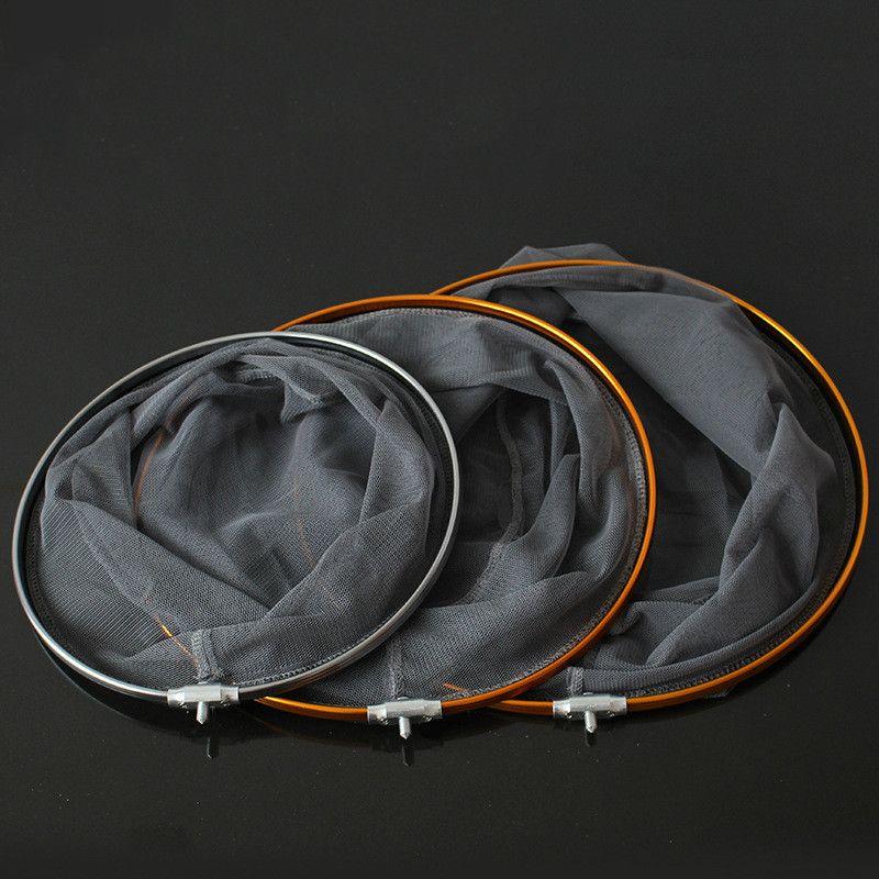 Aluminiumlegierung Tragbare Dip Net Fischernetze 8mm schraube Fishing Network Landung Dip netting Cast Net 30 cm 35 cm 40 cm