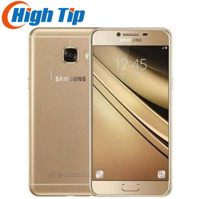Samsung Galaxy C5 C5000 5,2 zoll Octa-Core 4 gb RAM 32 gb/64 gb ROM LTE 16MP android 1080 p Wifi Dual SIM Renoviert Handy