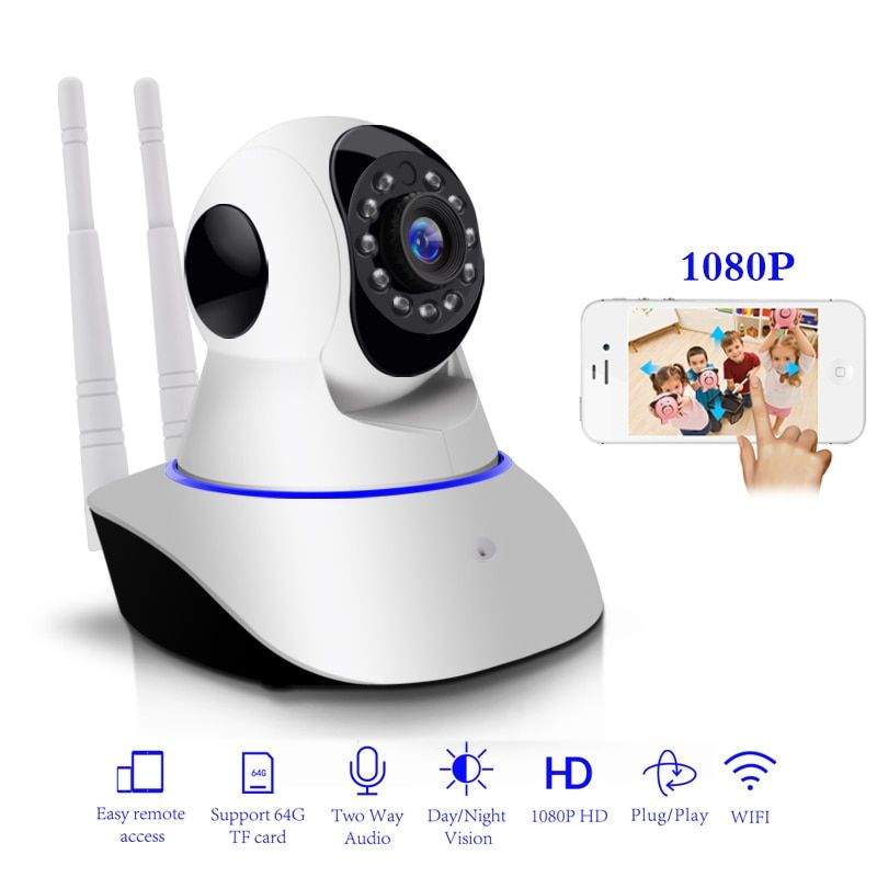 1080P IP Camera Wireless Home Security IP Camera Surveillance Camera Wifi Night Vision Baby Monitor CCTV Camera 1920*1080