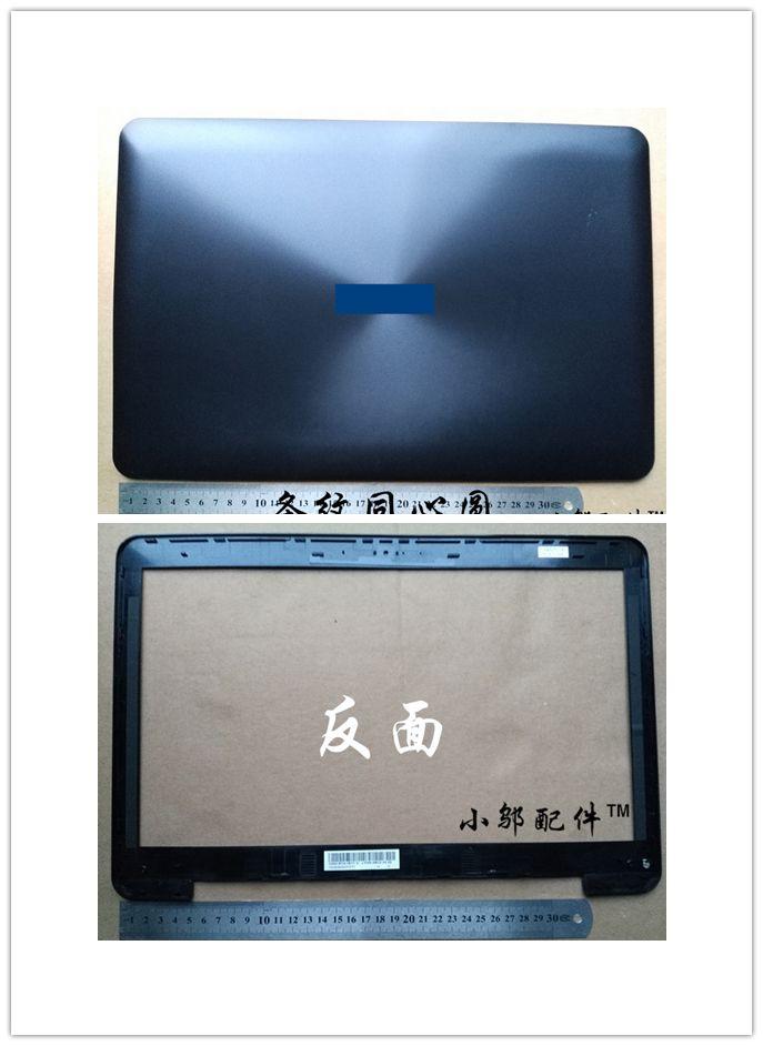 90% New laptop Top case base cover /lcd front bezel for ASUS X554 F554 K554 X554L F554L plastic laptop