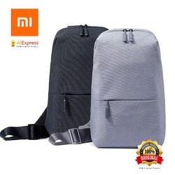 Original Xiaomi Backpack Sling Bag Leisure Chest Pack Small Size Shoulder Type Unisex Rucksack Crossbody Bag 4L Polyester