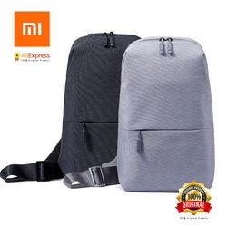 Original Xiaomi Backpack Sling Bag Leisure Chest Pack Small Size Shoulder Type Unisex Rucksack Crossbody Bag 4L Polyester
