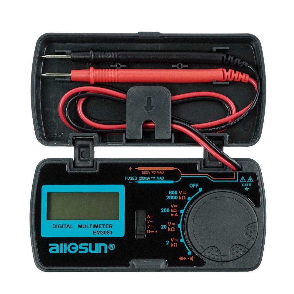 All-Sun EM3081 Autorange Digital Multimeter 3 1/2 1999 Low Battery Indication Overload <font><b>Protection</b></font> MULTIMETER Automotive Tester