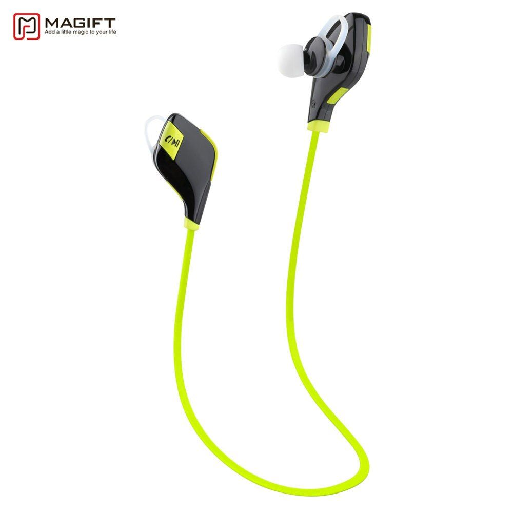 Magift5 Sports Running Gym Bluetooth Earphones V4.1 Headset In-ear Wireless Headphones Mic for <font><b>iPhone7</b></font> 6S Android for Xiaomi