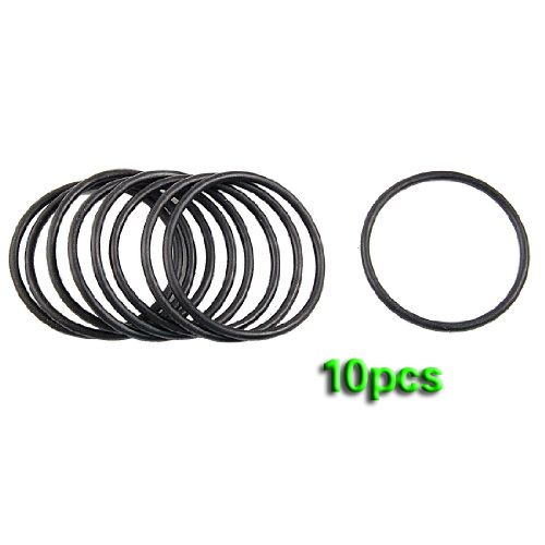 EWS 10 pcs 60mm x 3.5mm Mechanical Nitrile Rubber O Ring Oil Seal