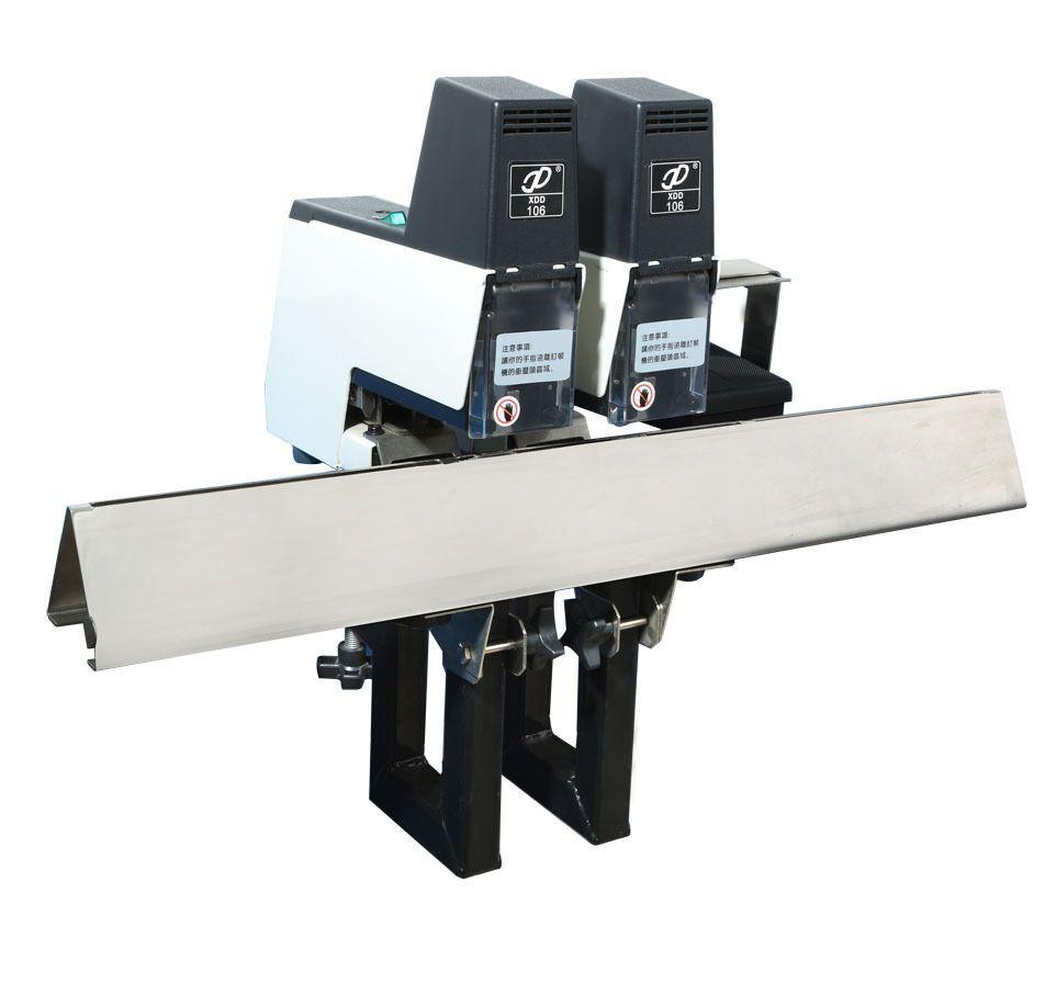 Dual Head Rapid 106 Stapler Flat & Saddle Stitch Binding Machine 220V
