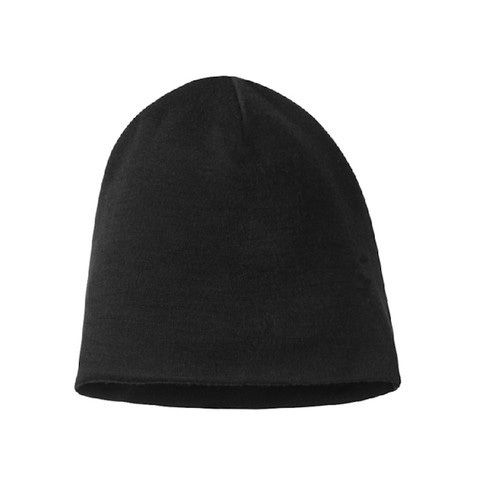 Men Women 100% super fine Merino wool Beanie hat Reversible Training running winter thermals fleece cap knit Sports Warm cosy