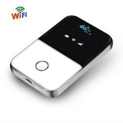 4G Lte Pocket Wifi Routeur Voiture Mobile Wifi Hotspot Sans Fil À Large Bande Mifi Déverrouillé Modem Extender Répéteur Avec Carte Sim Slot