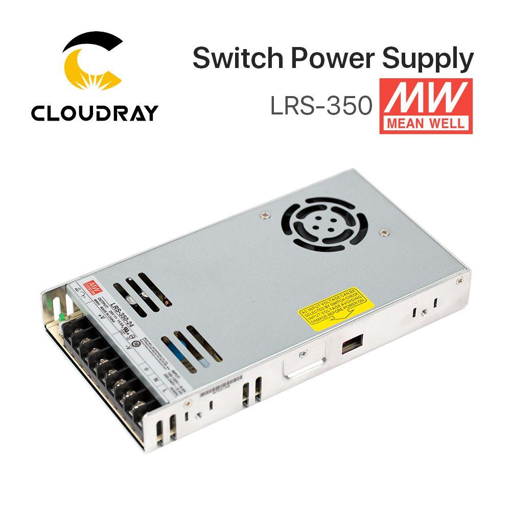 Meanwell LRS-350 Switching Power Supply 12V 24V 36V 48V 350W Original MW Taiwan Brand LRS-350-24