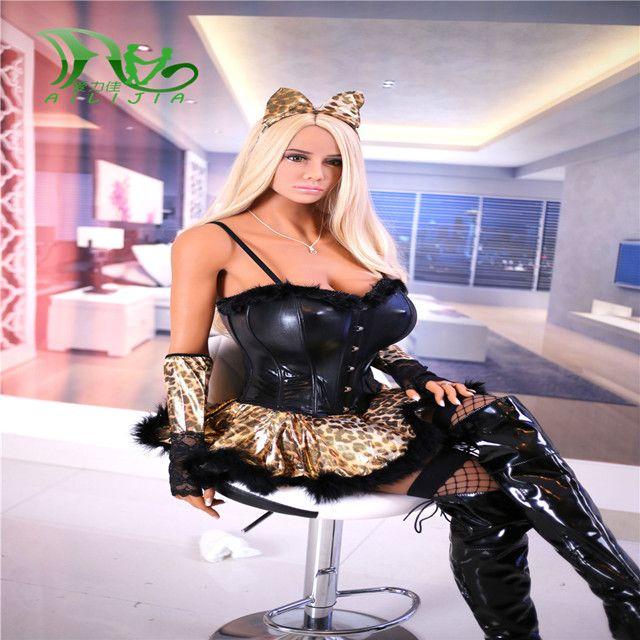 AiliJia-93 158 cm Volle Größe der männer realistische sex puppe Lebensechte Europa blond Grün augen LIEBE puppe echt TPE puppen