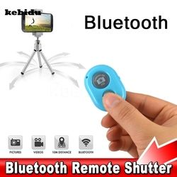 kebidu Wireless Bluetooth Self-Timer Shutter Release Camera Remote Controller Multi Color for iPhone for Smart android Phone