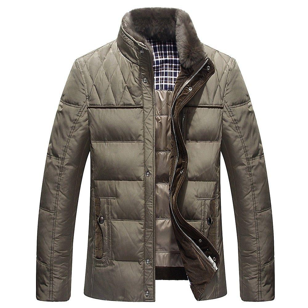 2017 marke Winterkleidung Fabrik-Direkt Kleidung Mode Männer Mantel Jacke Parkas Mens Daunenparka