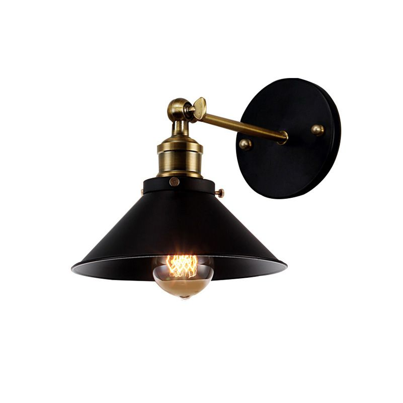 American Vintage Wall Lamp Indoor Lighting Bedside Lamps <font><b>Retro</b></font> Wall Lights For Reading Room Bedroom Home Free Shipping(BG-70)