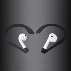 Marsnaska Hot Sale Earhook Holder for Apple AirPods Strap Silicone Sports Anti-lost Ear Hook 1 Pair