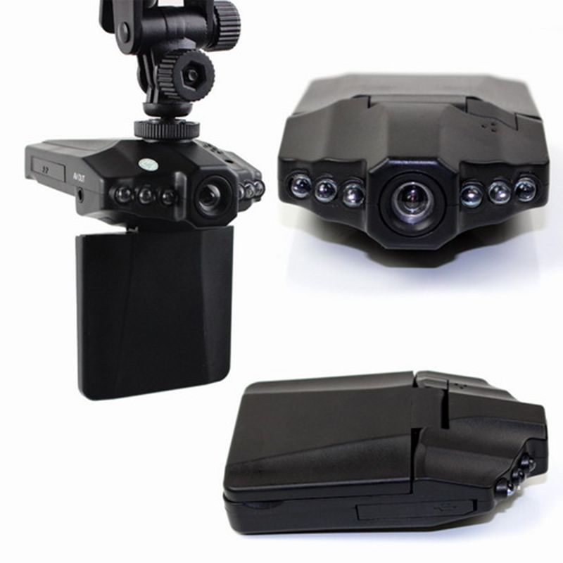 Gift DVRs Automobile DVR Car Camera DVR Recorder Video Registrator HD 720P Night Vision Car Black Box Dash Cam Digital Recorder
