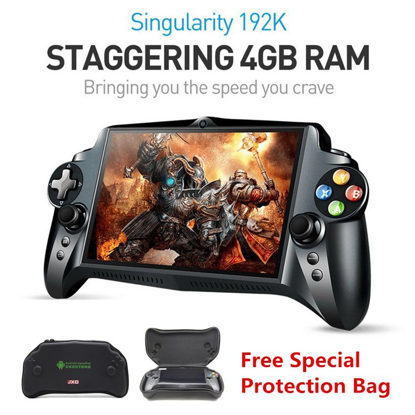 JXD S192K 7 pouces 1920x1200 Quad Core 4G/64GB nouveau joueur de jeu portable gamepad 10000mA Android 5.1 tablette PC console de jeu vidéo