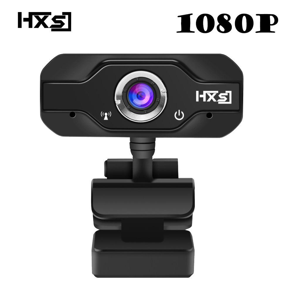 HXSJ 1080 P HD Webcam InTeching USB Widescreen Computer Kamera mit Mikrofon für PC, Desktop oder Laptop 360 grad-umdrehung