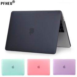 PFHEU, Mallette Pour Ordinateur Portable Pour Apple MacBook Pro Retina Air 11 12 13 15 pouces, pour mac Air 13, Nouveau Pro 13 15 pouce avec Tactile Bar Nouveau shell