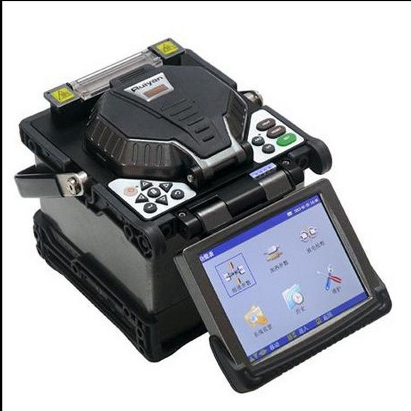 Digital fiber Fusion Splicer with Optical Fiber Cleaver stripper automatic focus function RY-F600P FTTH  fiber splicing machine