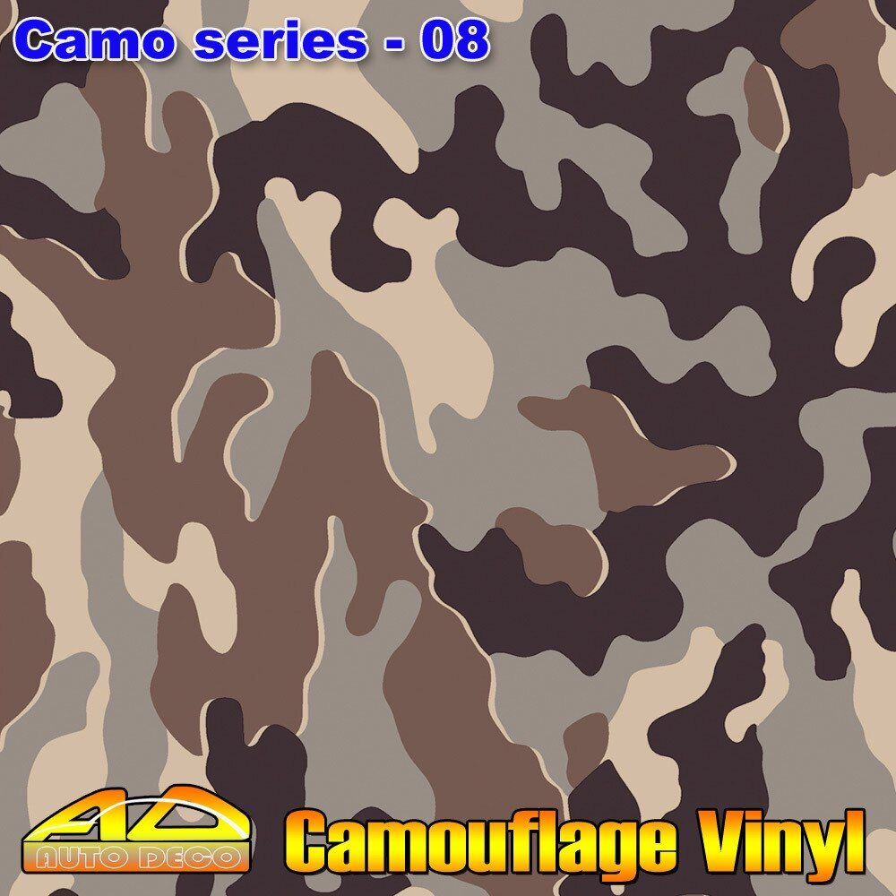 Hot-sale Camo Film Wrap Camouflage Vinyl Car Color Transform Sticker Foil Sheet With Air Channel FedEx Free Shipping 30m/roll