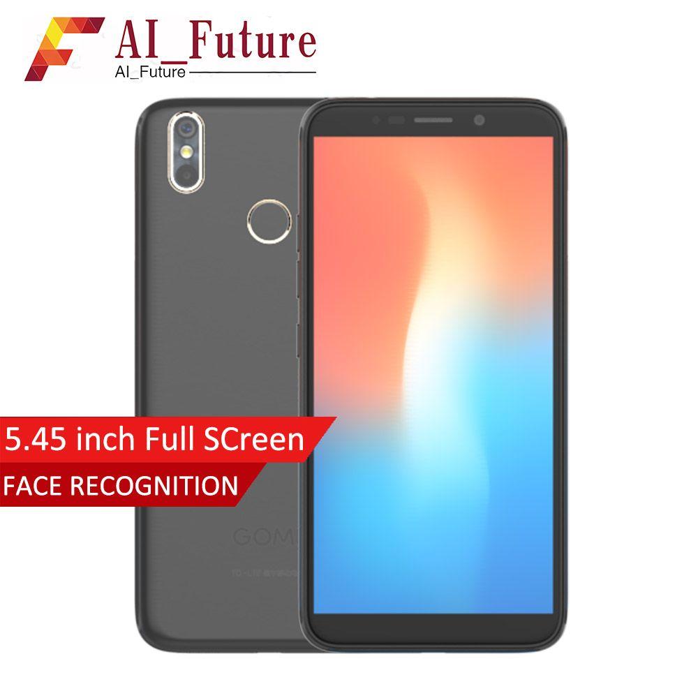 Original GOME C71 4G LTE Smartphone 3G RAM 32GB ROM 5.45 inch Full screen MTK6739 Dual Rear camera Android 7.1 Mobile Phone