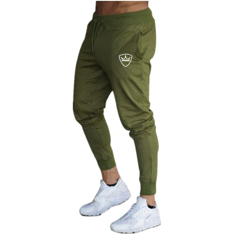 Summer new men's trousers solid color sports pants sports training pants gym quality running jogging pants fitness pants men