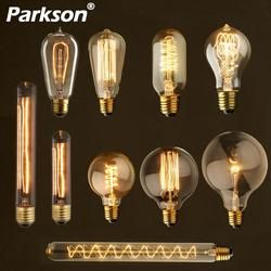 Retro Edison-birne E27 220 V 40 W ST64 A60 T45 G80 G95 Ampulle Vintage Birne edison Lampe Glühlampen Filament glühbirne Für Decor