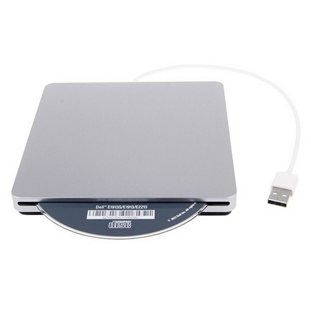 USB External Slot in DVD CD Drive Burner Superdrive for Apple MacBook Air Pro Convenience for you to Playing Music Movies