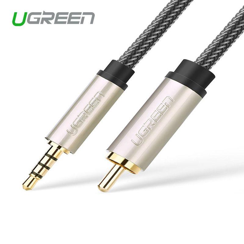 Ugreen AV132 xiaomi TV coaxial câble audio pour connecter amplificateur audio numérique ligne 3.5 tour RCA