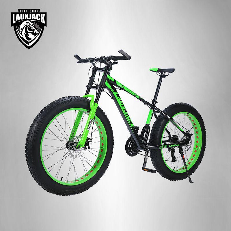 LAUXJACK mountainbike aluminium rahmen 24 geschwindigkeit Shimano mechanische bremsen 26