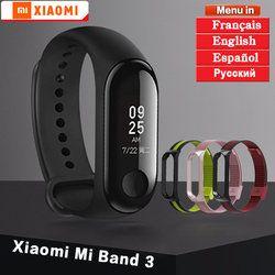Asli Xiaomi Mi Band 3 Gelang Gelang Mi Band 2 3 Kebugaran Tracker Smart Gelang Monitor Detak Jantung Android