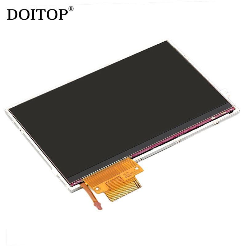 DOITOP Original LCD Display Screen Backlight Replacement for Sony for PSP 2000 For PlayStation Portable LCD Repair Part