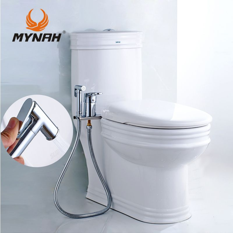 MYNAH Bidet Sprayer Toilet Handheld Shower Bidet Bath Multi-functional Bathroom Handheld